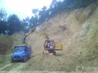 加藤挖掘机施工图片