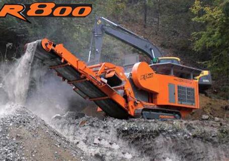 洛克斯特R800破碎机图片