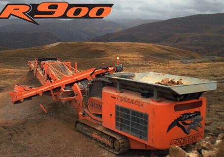 洛克斯特R900破碎机图片