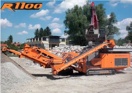 洛克斯特R1100破碎机图片