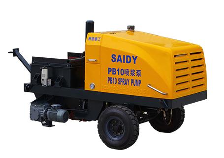 赛地重工HBT系列电机动力混凝土泵电机动力混凝土泵