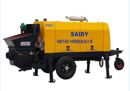 赛地重工HBT80-11SD柴油机动力混凝土泵