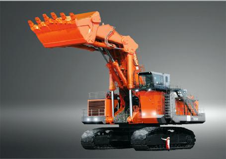 原装日立EX8000-6LD正铲挖掘机