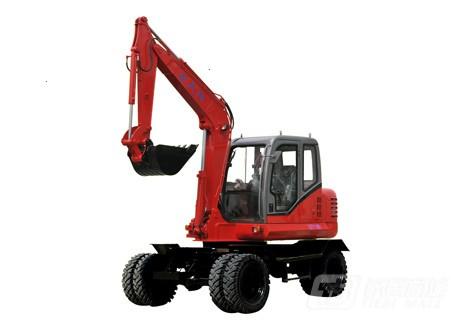 七天阳QTY100轮式挖掘机