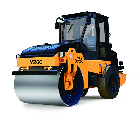 骏马YZ6C/YZD6C单钢轮压路机