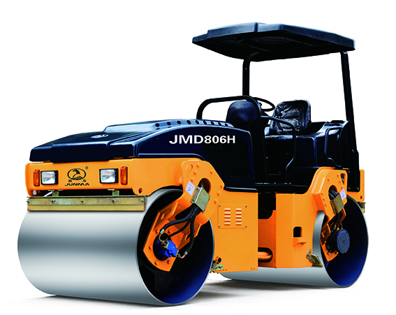 骏马JMD806H全液压双钢轮振动振荡压路机