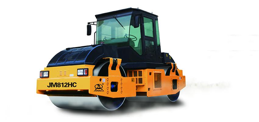 骏马JM812HC/JM812HC-2全液压双钢轮振动压路机
