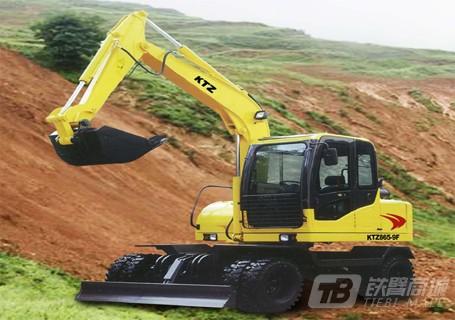 恒辉重工KTZ865轮式挖掘机图片