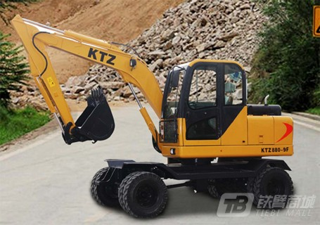 恒辉重工KTZ880轮式挖掘机图片