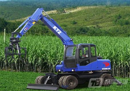 恒辉重工KTZ855-9F轮式挖掘机图片