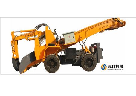 双利机械GYTWF-80S煤矿用挖掘式装载机图片
