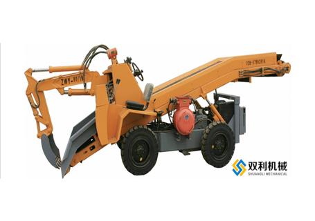 双利机械YTWF-60B煤矿用挖掘式装载机图片