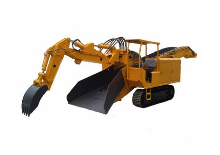 双利机械GYLW-100履带刮板系列挖掘式装载机图片