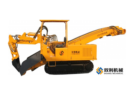 双利机械GYLW-60履带刮板系列挖掘式装载机图片