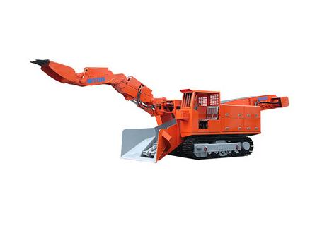 鑫通机械ZWY-100/45L平巷用履带式扒渣机