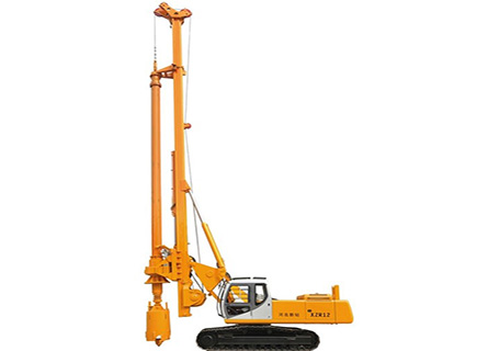 新钻XZR12全液压履带式旋挖钻机