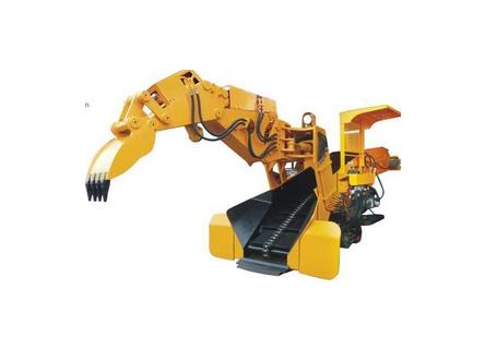 岩鼎科技WZG-120/45L轨行式挖斗装岩机