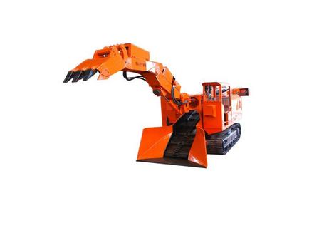 岩鼎科技LWL-180履带挖掘式装载机(扒渣机)