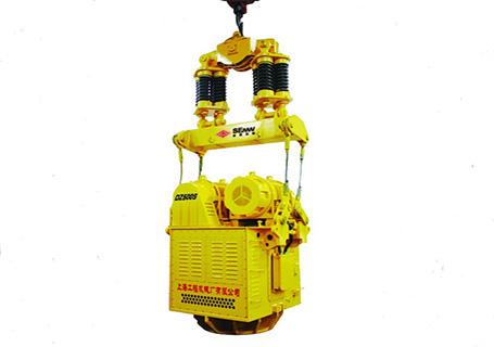 上工DZJ500S电驱振动桩锤图片