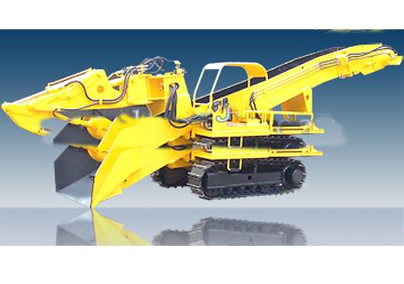 穿山机械LDZ150斜井履带式挖斗装渣机