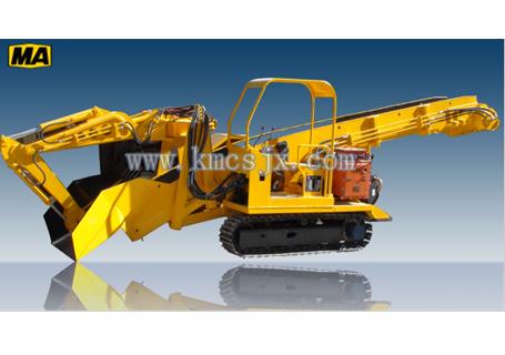 穿山机械ZWY-100/32.2L煤矿用挖掘式装载机图片