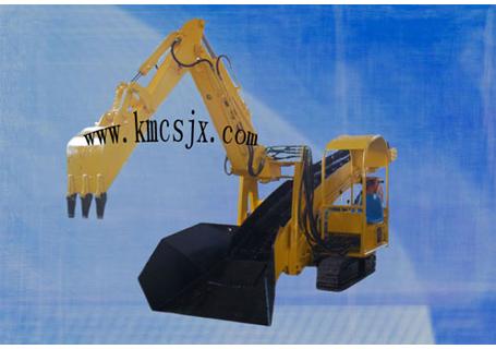 穿山机械ZWY-80/22L煤矿用挖掘式装载机