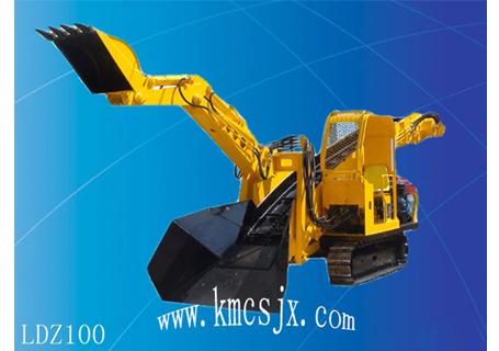 穿山机械LDZ100混合动力扒渣机图片