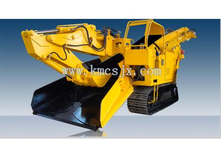 穿山机械LDZ200履带式挖斗装渣机