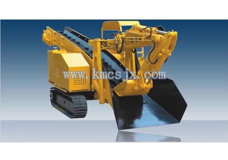 穿山机械LDZ100履带式挖斗装渣机