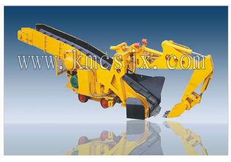 穿山机械GDZ160轨行式挖斗装渣机