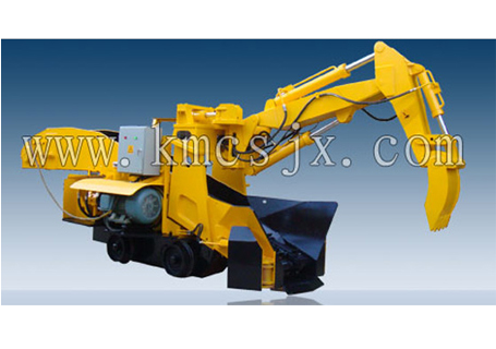 穿山机械GDZ120轨行式挖斗装渣机
