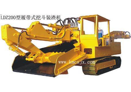 穿山机械LDZ200履带式挖斗装渣机图片