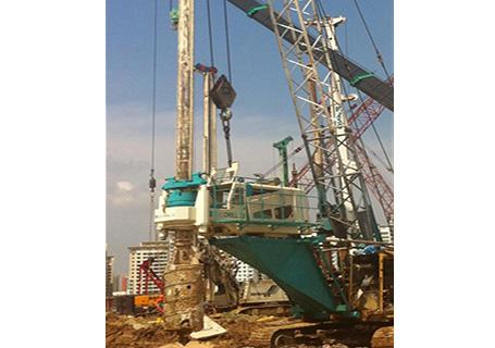 上工ZG180高台旋挖钻机图片