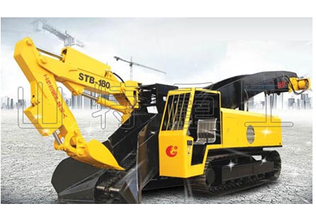 山特重工STB-180D大坡度专用履带试扒渣机