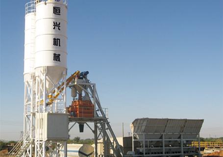 恒兴机械HZS50/75/100/150/200模块式混凝土搅拌设备(