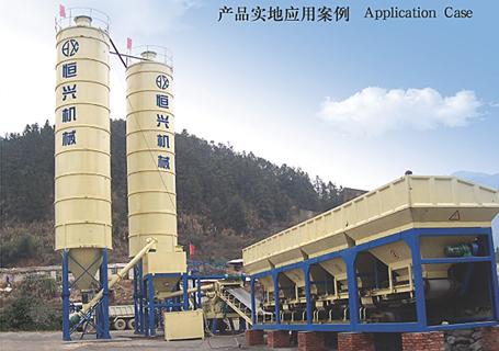 恒兴机械DWBS系列模块式稳定土厂拌设备