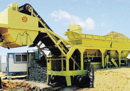 恒兴机械WBSY系列移动式稳定土厂拌设备