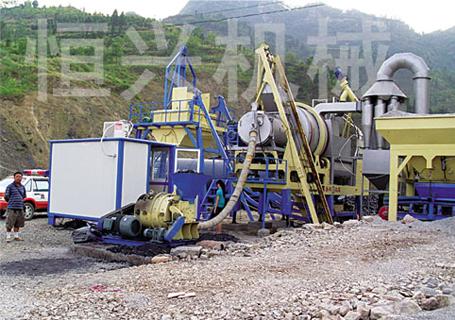 恒兴机械YQLB系列移动强制式沥青混凝土搅拌设备