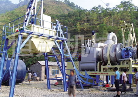 恒兴机械QLB系列模块强制式沥青混凝土搅拌设备