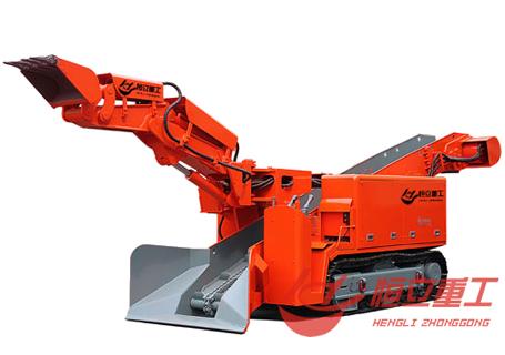 恒立重工ZWY-60/30L斜坡用履带式扒渣机