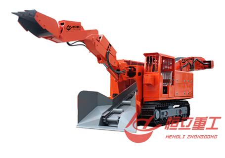 恒立重工ZWY-120/55L斜坡用履带式扒渣机
