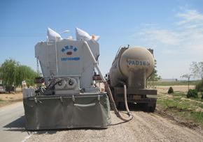 陕西万里路面养护FS-2500智能型水泥撒布机