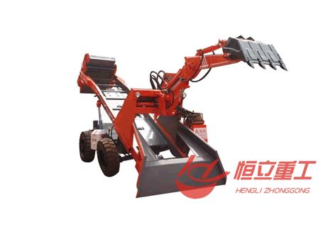 恒立重工LWT-602驱轮式矿斗车/扒渣机