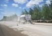 陕西万里路面养护FS2500水泥撒布机