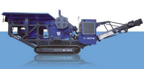 维特根MC 120 Z移动颚式破碎机