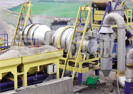 恒兴机械RQLZB系列移动式沥青混合料再生搅拌设备