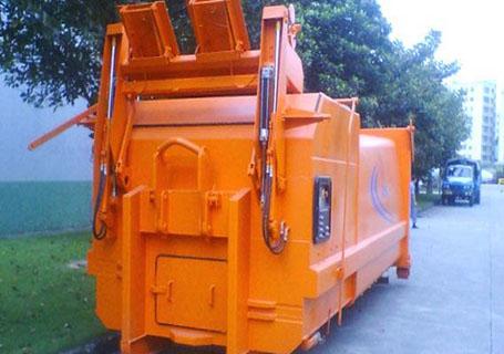 三民重工LLYS-15连体式水平垃圾站垃圾车图片