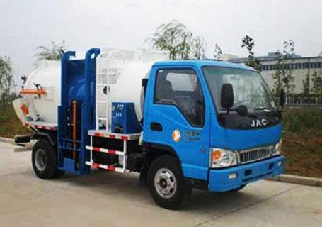 三民重工YSYA-160侧装式垃圾压缩车垃圾车图片
