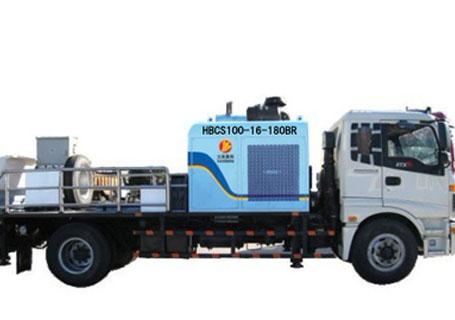 三民重工HBCS100-16-180BR型车载泵车载泵