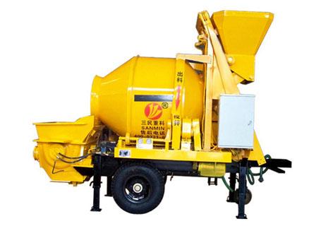 三民重工HBT20C-6-22拖泵